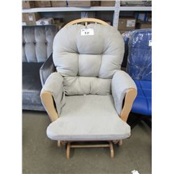 BELLE ISLE GENTLEY GLIDER ROCKING CHAIR