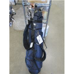 GOLF CLUBS & CADDY BAG