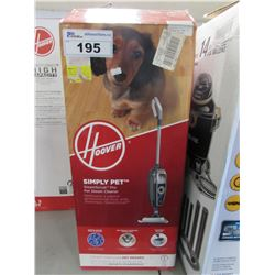 HOOVER SIMPLY PET STEAMSCRUB PRO PET STEAM CLEANER