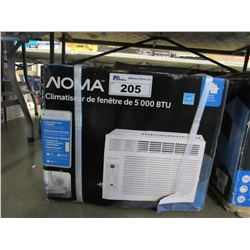 NOMA 5,000 BTU WINDOW AIR CONDITIONER
