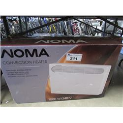NOMA 1500W CONVECTION HEATER