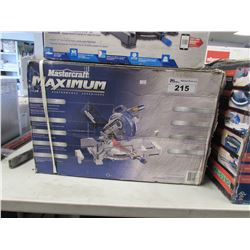 "MASTERCRAFT MAXIMUM PREMIUM 10"" COMPOUND MITRE SAW"