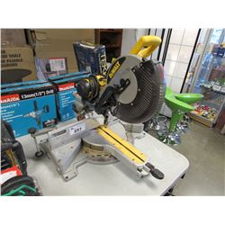 "DEWALT 12"" SLIDING COMPOUND MITRE SAW"