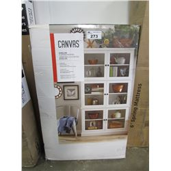 "CANVAS ELEVYN 6-DOOR PANTRY (40 13/16"" X 12.5"" X 72 5/32"")"