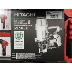 "HITACHI 2-1/2"" 65MM COIL NAILER (NV65AH2)"