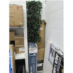 FAKE PLANT EXPANDING SCREEN, BOOKSHELF, FOR LIVING KITCHEN CART WITH BOTTLE STORAGE