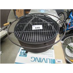 FOR LIVING OUTDOOR FIRE PIT