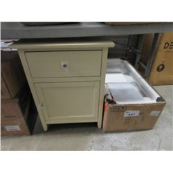 TWO 2-DRAWER CABINETS