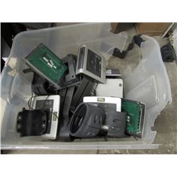 TOTE OF TECHNO GYM CONTROL PANELS