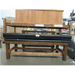 2 ROLLING BENCHES