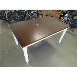 DINING TABLE (NEEDS ASSEMBLY)