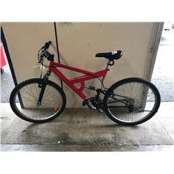RED ARASHI MOUNTAIN BIKE