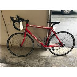 RED SPECIALIZED BICYCLE