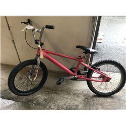 PINK (UNKNOWN) BMX BIKE