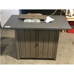 OUTDOOR BAR PROPANE FIRE TABLE