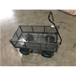 YARDWORKS MESH GARDEN CART