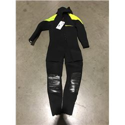 US DIVERS 2 PCE WETSUIT - LARGE GREEN & BLACK