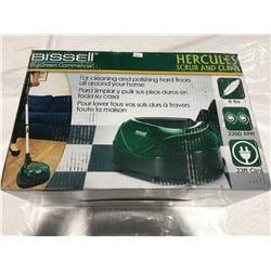 BISSELL BIG GREEN COMMERCIAL HERCULES SCRUB & CLEAN FOR HARD FLOORS