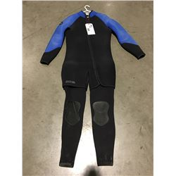 BARE 2 PCE WETSUIT BLUE & BLACK LARGE