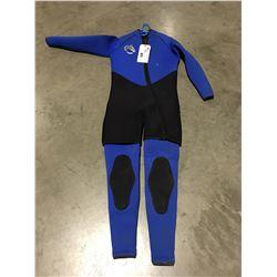 NEPTUNE 2 PCE WETSUIT BLUE & BLACK