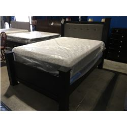 QUEEN SIZE POSTER BED (HEADBOARD, FOOTBOARD & RAILS)