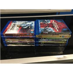 14 MARVEL & DC BLUERAY DISC MOVIES