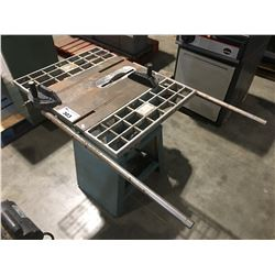 """JET EQUIPMENT & TOOLS 10"""" TABLE SAW"""