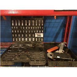 FULLER COMBINATION SOCKET/WRENCH SET & CABLE PULL COME-A-LONG