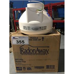 "RADON AWAY RADON FAN 4.5"" INLET/OUTLET DIAMETER"