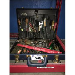 SERVICE TECHNICIANS TOOL CASE & CONTENTS