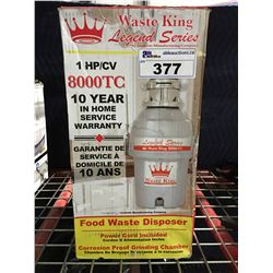 WASTE KING 1 HP FOOD WASTE DISPOSER