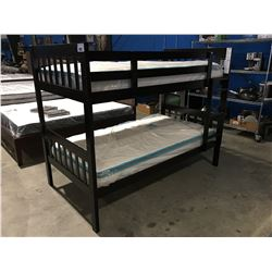 CHILDS BUNK BED SET (MATTRESS' SOLD SEPARATE)