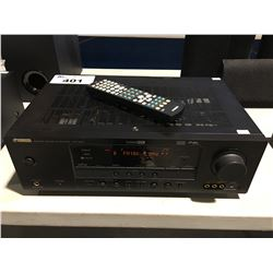 YAMAHA MODEL HTR-6040 STEREO RECEIVER WITH REMOTE