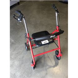 DRIVE 4 WHEEL WALKER ROLLATOR