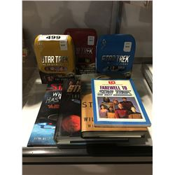 STAR TREK COLLECTION - 3 BOOKS, TV GUIDE COLLECTORS EDITION, 3 DVD ORIGINAL SERIES BOX SETS