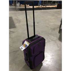 RIO 2 PCE CARRY-ON AND TRAVEL TOTE PURPLE