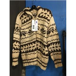 COWICHAN WOOL SWEATER