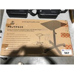 PYLE PLATFORM PROJECTOR STAND/TROLLEY