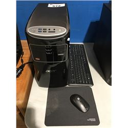 ACER ASPIRE AT3-100-EF20 COMPUTER TOWER WITH KEYBOARD, MOUSE & MOUSE PAD (HARD DRIVE HAS BEEN