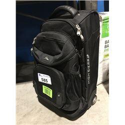 HIGH SIERRA BLACK CARRY-ON BAG