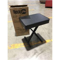 ROCK JAM BLACK PADDED FOLDING SMALL BENCH SEAT