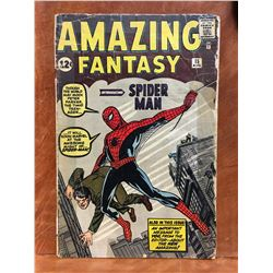 AMAZING FANTASY #15 (1962) THE HOLY GRAIL OF ALL MARVEL COMICS! ORIGIN & 1ST APP SPIDER-MAN. LOW