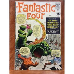 FANTASTIC FOUR # 1 (1961) THE BOOK THAT KICKED OFF THE MARVEL AGE OF COMICS! ORIGIN & 1ST APP THE