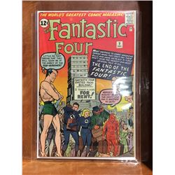 FANTASTIC FOUR #9 (1962) 3RD APP SILVER AGE SUB-MARINER. LOWER TO MID GRADE - COMPLETE