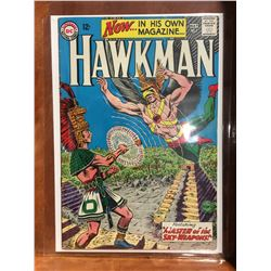 HAWKMAN #1 (1964) 1ST SILVER AGE SERIES ISSUE. MID GRADE - COMPLETE