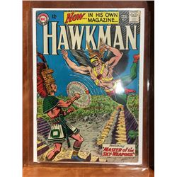 HAWKMAN #1 (1964) 1ST SILVER AGE SERIES ISSUE. LOWER TO MID GRADE - COMPLETE