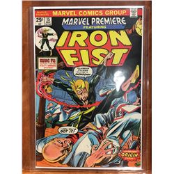 MARVEL PREMIERE #15 (1974) ORIGIN & 1ST APP IRON FIST. HIGH MID GRADE - COMPLETE. NICE EXAMPLE!
