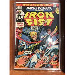MARVEL PREMIERE #15 (1974) ORIGIN & 1ST APP IRON FIST. MID GRADE - COMPLETE