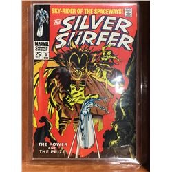SILVER SURFER #3 (1968) 1ST APP MEPHISTO. LOWER TO MID GRADE - COMPLETE