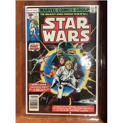 STAR WARS #1 (1977) 1ST STAR WARS COMIC! HIGH MID GRADE - COMPLETE. NICE EXAMPLE!